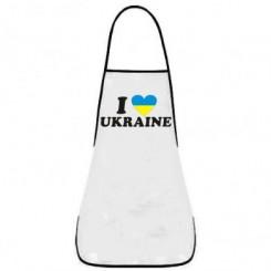 Фартук I LOVE UKRAINE 2 - Moda Print