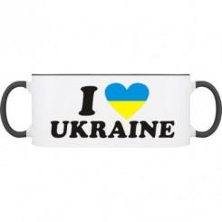 Кружка двухцветная I LOVE UKRAINE 2 - Moda Print