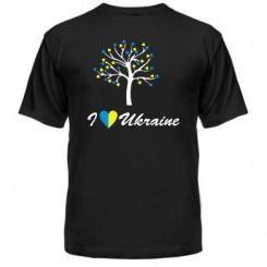 Мужская футболка I LOVE UKRAINE - Moda Print