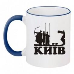 Чашка двухцветная Киев - Moda Print