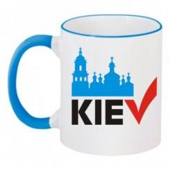 Чашка двухцветная KIEV - Moda Print