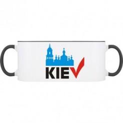 Кружка двухцветная KIEV - Moda Print