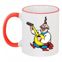 Чашка двокольорова KOZAK - Moda Print