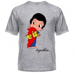 Мужская футболка Love is 2 - Moda Print
