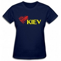 Футболка женская Люблю Киев - Moda Print