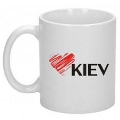 Кружка Люблю Киев - Moda Print