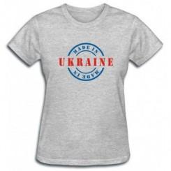 Футболка женская Made in UKRAINE - Moda Print