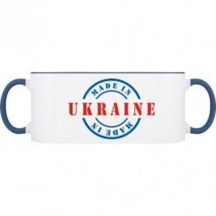 Кружка двухцветная Made in UKRAINE - Moda Print