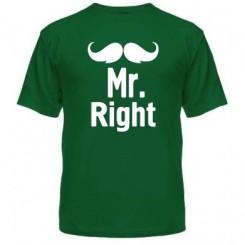 Мужская футболка Mr. Right - Moda Print