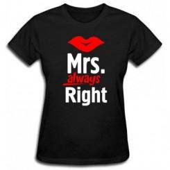 Футболка женская Mrs. Right - Moda Print