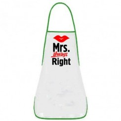 Фартук Mrs. Right - Moda Print
