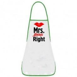 Фартух Mrs. Right - Moda Print