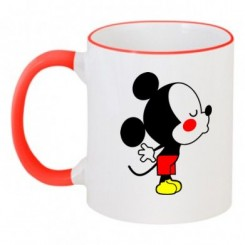 Чашка двухцветная Мышонок - Moda Print