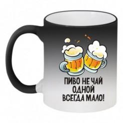 Кружка-хамелеон Пиво не чай - Moda Print