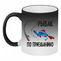 Кружка-хамелеон Рыбак по призванию - Moda Print
