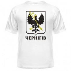 Футболка чоловіча з Гербом Чернігова - Moda Print