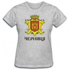 Футболка жіноча з Гербом Чернівців - Moda Print