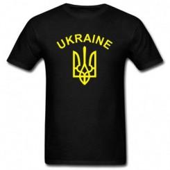 Футболка детская с Гербом Украины и надписью - Moda Print