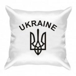 Подушка с Гербом Украины и надписью - Moda Print