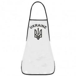 Фартук с Гербом Украины и надписью - Moda Print