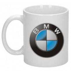 Кружка с логотипом BMW