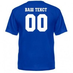 Мужская футболка с номером и фамилией - Moda Print