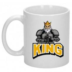Кружка с рисунком King