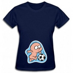 Футболка женская с рисунком малыша - Moda Print
