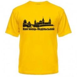 Мужская футболка с символами Каменец Подольского