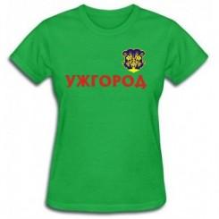 Футболка жіноча з символами Ужгорода - Moda Print