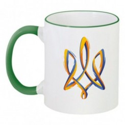 Чашка двухцветная с символикой - Moda Print