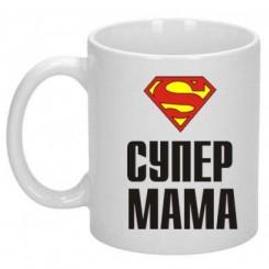 Чашка SUPER МАМА - Moda Print
