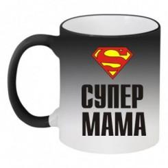 Кружка-хамелеон SUPER МАМА - Moda Print