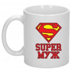 Чашка Супер чоловік - Moda Print