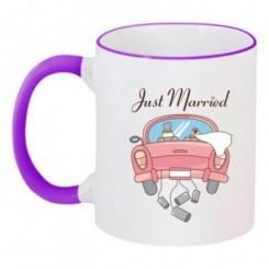 Чашка двокольорова Весільна - Moda Print