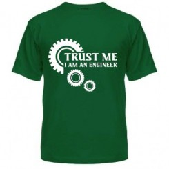 Футболка чоловіча Trust me (engineer) - Moda Print