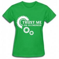 Футболка жіноча Trust me (engineer) - Moda Print