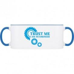 Кружка двокольорова Trust me (engineer) - Moda Print