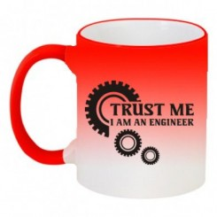 Кружка-хамелеон Trust me (engineer) - Moda Print