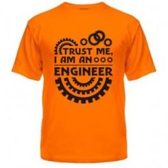 Мужская футболка Trust me I'm an engineer