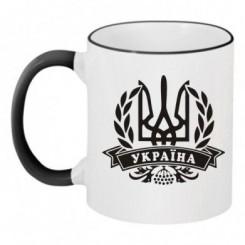Чашка двухцветная Украина - Moda Print