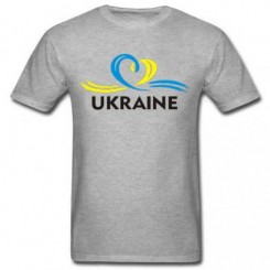 Футболка детская UKRAINE (Сердечко с ленточкой) - Moda Print