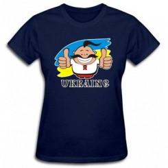 Футболка жіноча UKRAINE - Moda Print