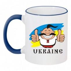 Чашка двухцветная UKRAINE - Moda Print