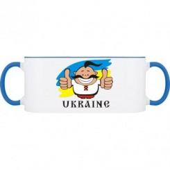 Кружка двухцветная UKRAINE - Moda Print