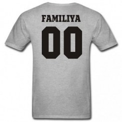Футболка детская Ваша фамилия и номер - Moda Print