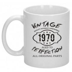 Кружка Wintage Perfection 1970 - Moda Print