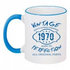 Чашка двухцветная Wintage Perfection 1970 - Moda Print