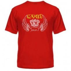 Мужская футболка Юрий ангел